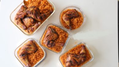 Photo of Jollof Coconut Rice Recipe (Video)