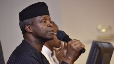 Photo of Nigeria at 59 Osinbajo addresses Nigerians
