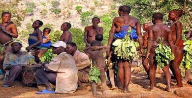 Photo of Meet the naked tribes of Nigeria — where people still wear leaves