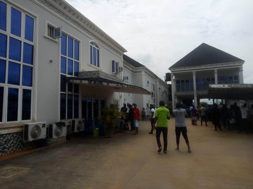 kabaka's hotel before destruction